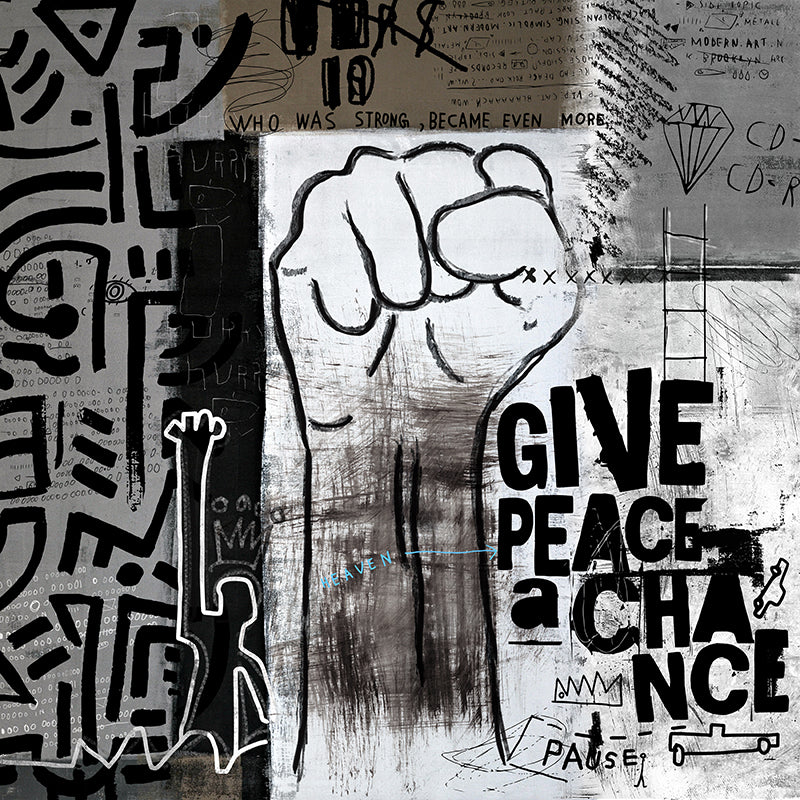 Give Peace A Chance by Nikki Chu