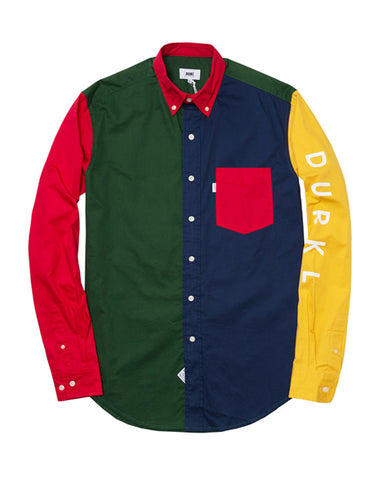 PANELED LS SHIRT
