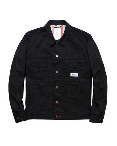 TWILL RIDERS JACKET