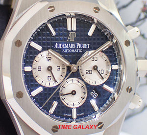 AP 26331ST.OO.1220ST.01 blue dial with silver subdials