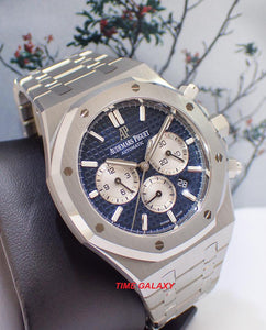 Buy Sell Trade Audemars Piguet RO Chronograph Blue 26331ST.OO.1220ST.01 at Time Galaxy