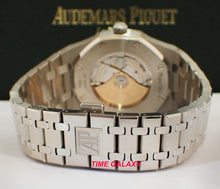 Load image into Gallery viewer, Audemars Piguet RO Grey 15400ST.OO.1220ST.04 stainless steel bracelet with AP folding clasp