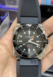 Pre-Owned Genuine Bell & Ross Instruments BR03-92 Diver Date Watch