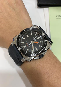 Pre-used BR 03-92 Diver powered by calibre BR-CAL.302, black dial