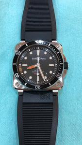 Buy Sell Trade Bell & Ross Instruments BR03-92 Diver Pre-Owned Watch at Time Galaxy