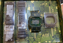 Load image into Gallery viewer, G-Shock DWE-5600CC with interchangeable green bezel and a 5600 circuit board design