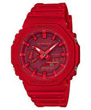 Load image into Gallery viewer, Casio G-Shock Red GA-2100-4A