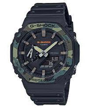 Load image into Gallery viewer, Casio-G-Shock Camouflage GA-2100SU-1A