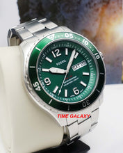 Load image into Gallery viewer, Fossil FS5690 green dial 48 mm diameter