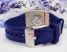 Load image into Gallery viewer, Franck Muller Vanguard V32SCATFOACBL match with blue leather strap