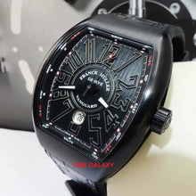 Load image into Gallery viewer, Buy Sell Pre-Owned Franck Muller Vanguard Black PVD Titanium Men's Watch at Time Galaxy