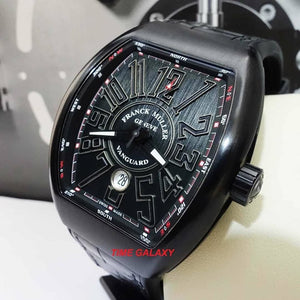 Buy Sell Pre-Owned Franck Muller Vanguard Black PVD Titanium Men's Watch at Time Galaxy