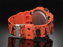 Load image into Gallery viewer, Dragon Ball Z GA110JDB fitted with resin strap