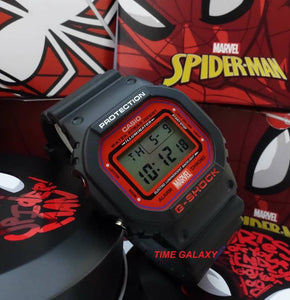 Original Spiderman special edition watch model ga-5600spider-1 at Time Galaxy Watch Shop