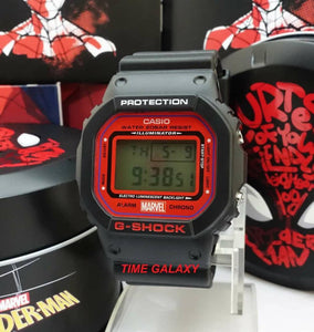 Genuine limited edition wrist watch G-shock x Spiderman by Time Galaxy Online Watch Store Malaysia