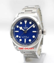 Load image into Gallery viewer, Tudor Heritage Black Bay 32 Blue Bracelet M79580-0003