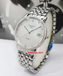 Buy Sell Longines Elegant Diamond MOP Bracelet L4.809.0.87.6 at Time Galaxy Malaysia