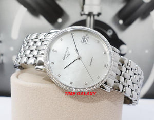 The beautiful and elegant Longines L4.809.0.87.6 suitable for ladies, Swiss made watch