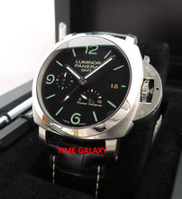 Load image into Gallery viewer, Panerai Luminor 1950 3 Days GMT Power Reserve Acciacio PAM321