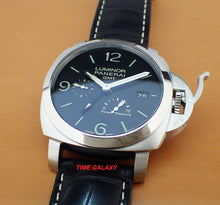 Load image into Gallery viewer, Buy Sell Trade Panerai Luminor 3 Days GMT PAM321 at Time Galaxy