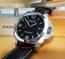 Load image into Gallery viewer, Buy Sell Trade Panerai Luminor Brushed PAM312 at Time Galaxy