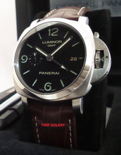 Load image into Gallery viewer, Panerai Luminor 1950 3 Days GMT Automatic Acciaio PAM 320