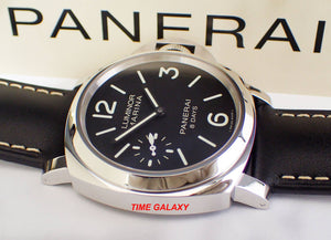 Panerai Pam510 black dial, small seconds and night indicator