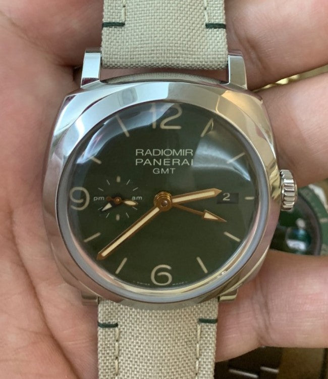 Panerai Radiomir 1940 45 3 Days GMT Military Green PAM998