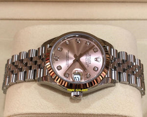 Buy Sell Rolex Datejust31 278274 Pink Diamond at Time Galaxy