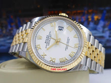 Load image into Gallery viewer, Rolex 126233-0029 white dial, made of stainless steel, yellow gold and sapphire