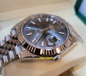 Rolex 126334-0014 made of White Gold Oystersteel