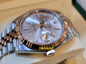 Rolex 126331-0010 made of Rose Gold and Stainless steel
