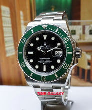 Load image into Gallery viewer, Rolex Submariner 41 Date Oystersteel Cerachrom Black Green 126610LV-0002