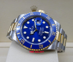 Rolex 126613LB-0002 features royal blue dial, 41 mm diameter