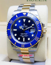 Load image into Gallery viewer, Rolex Submariner 41 Rolesor Yellow Gold Royal Blue 126613LB-0002