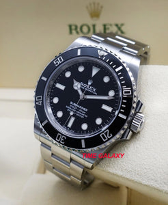 Buy Sell Trade New Rolex Submariner 41 No Date Black 124060 at Time Galaxy