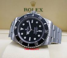 Load image into Gallery viewer, Rolex 124060-0001 black dial with Chromalight display with long-lasting blue luminescence