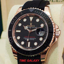Load image into Gallery viewer, Rolex Yacht-Master Everose Oysterflex 116655-0001