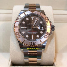 Load image into Gallery viewer, Rolex Yacht-Master 40 Rolesor Everose Chocolate 126621-0001