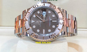 Rolex 126621-0001 made of steel, rose gold, brown dial