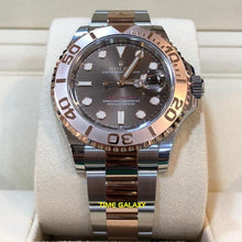 Load image into Gallery viewer, Buy Sell Rolex Yacht-Master 40 Rolesor Everose Chocolate 126621 at Time Galaxy