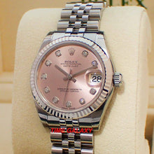 Load image into Gallery viewer, Rolex Datejust 31 Jubilee Pink Diamonds 178274-0022 Watch