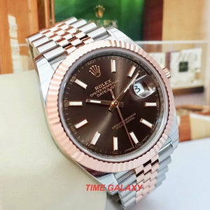 Rolex 126331-0002 made of stainless steel, rose gold, calibre 3235