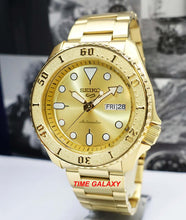 Load image into Gallery viewer, Seiko 5 Sports Gold Tone SRPE74K1 Bracelet