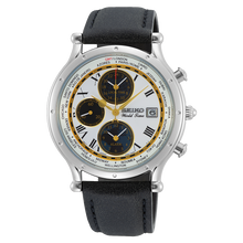 Load image into Gallery viewer, Authentic SEIKO Age of Discovery World Time Alarm SPL055P1 Watch Limited Edition