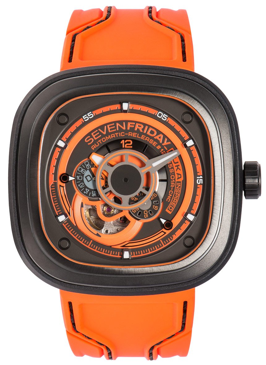 Brand New 100% Genuine SEVENFRIDAY P-Series P3/07 Kuka III Watch (Limited Edition)