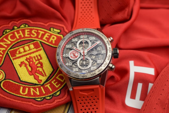 Tag Heuer Manchester United Carrera Calibre Heuer 01 Special Edition Watch