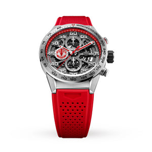 Buy Tag Heuer Calibre Heuer 01 Manchester United Special Edition CAR210M.FT6156 at Time Galaxy