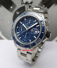 Load image into Gallery viewer, Tag Heuer CAK2112.BA0833 powered by Calibre 16 caliber, ETA 7750 base, chronograph
