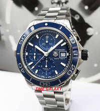 Load image into Gallery viewer, Buy, Sell, Trade Tag Heuer Aquaracer 500M Calibre 16 CAK2112 at Time Galaxy Watch